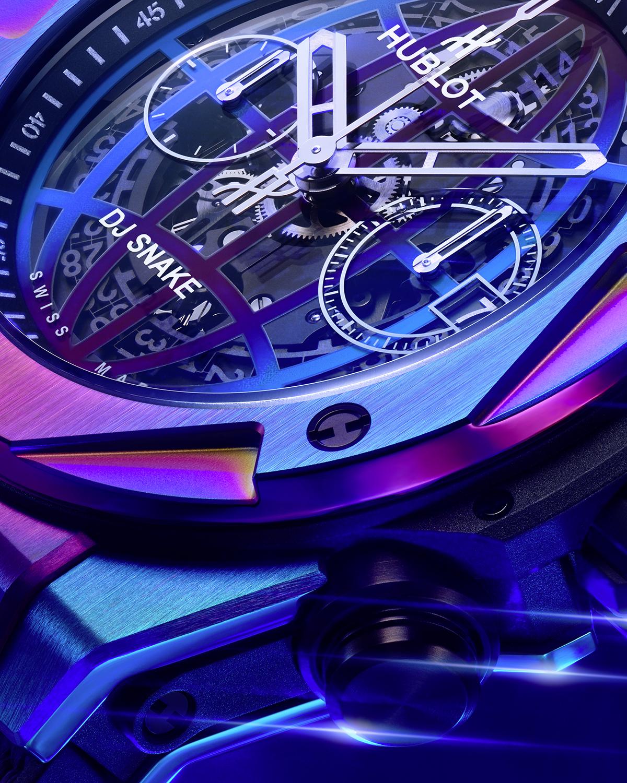 Hublot Big Bang DJ Snake Lifestyle detalle bisel