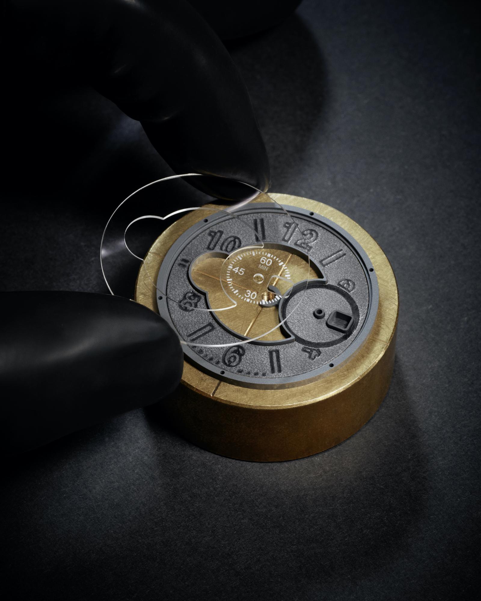Hublot Big Bang Unico Berluti Aluminio 421.NX.0500.VR.BER21 Savoir Faire Cristal