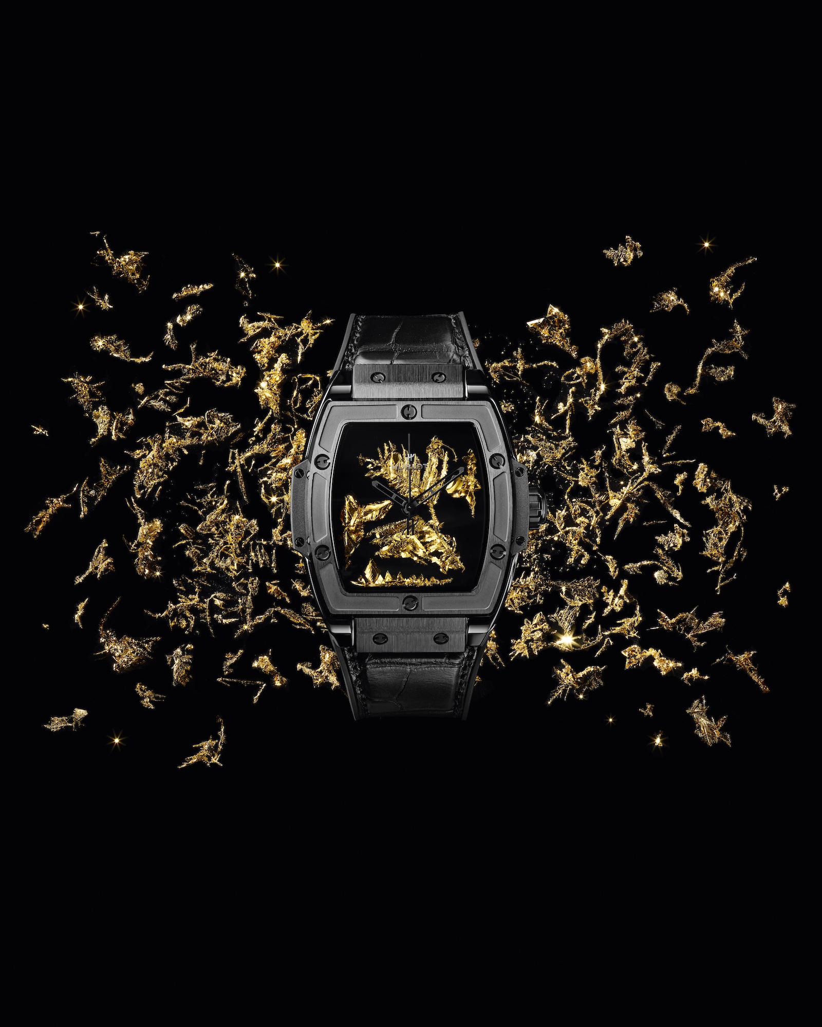 Hublot Spirit of Big Bang Gold Crystal Lifestyle