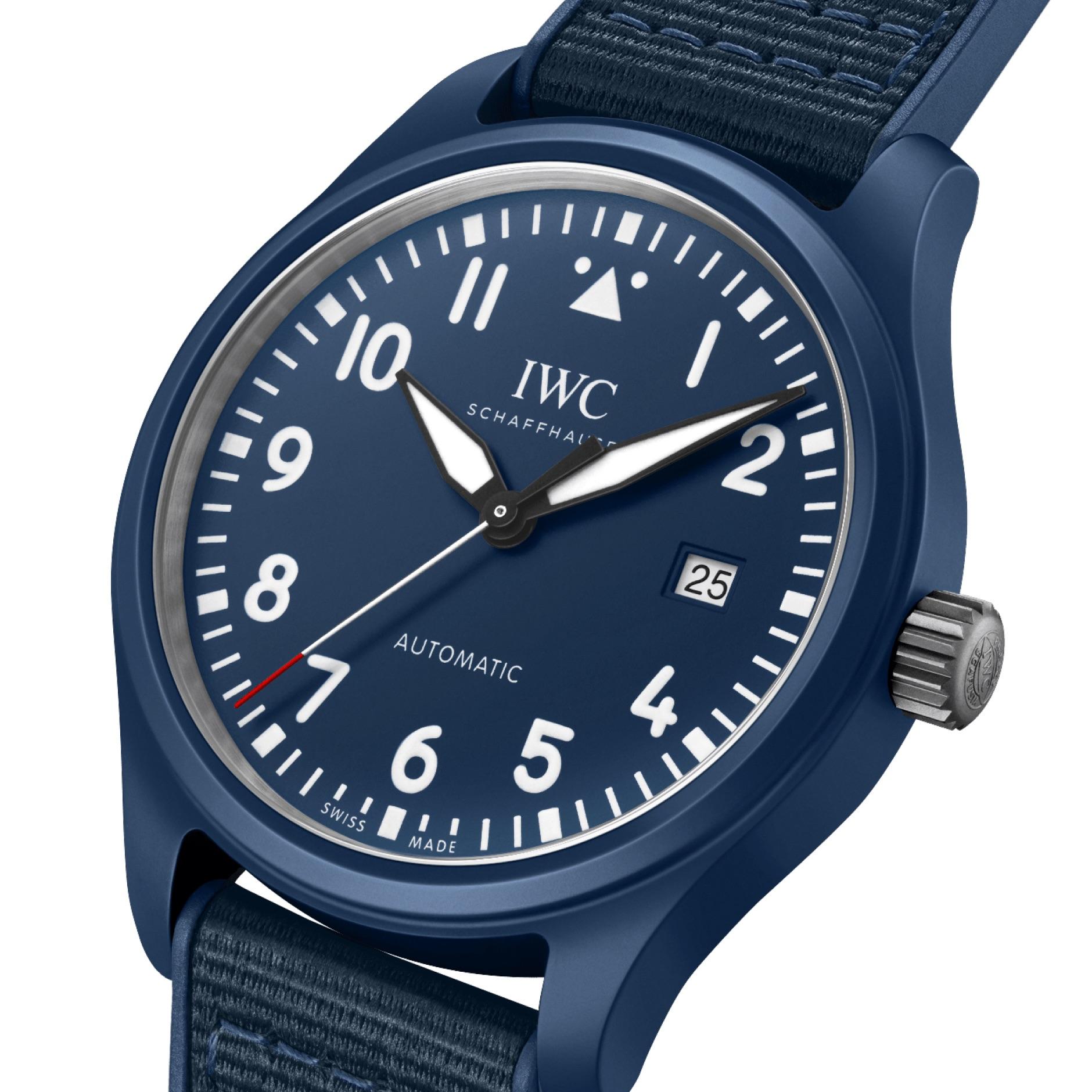 IWC Pilot Watch Automatic Edition Laureus Sport For Good IW328101 Esfera