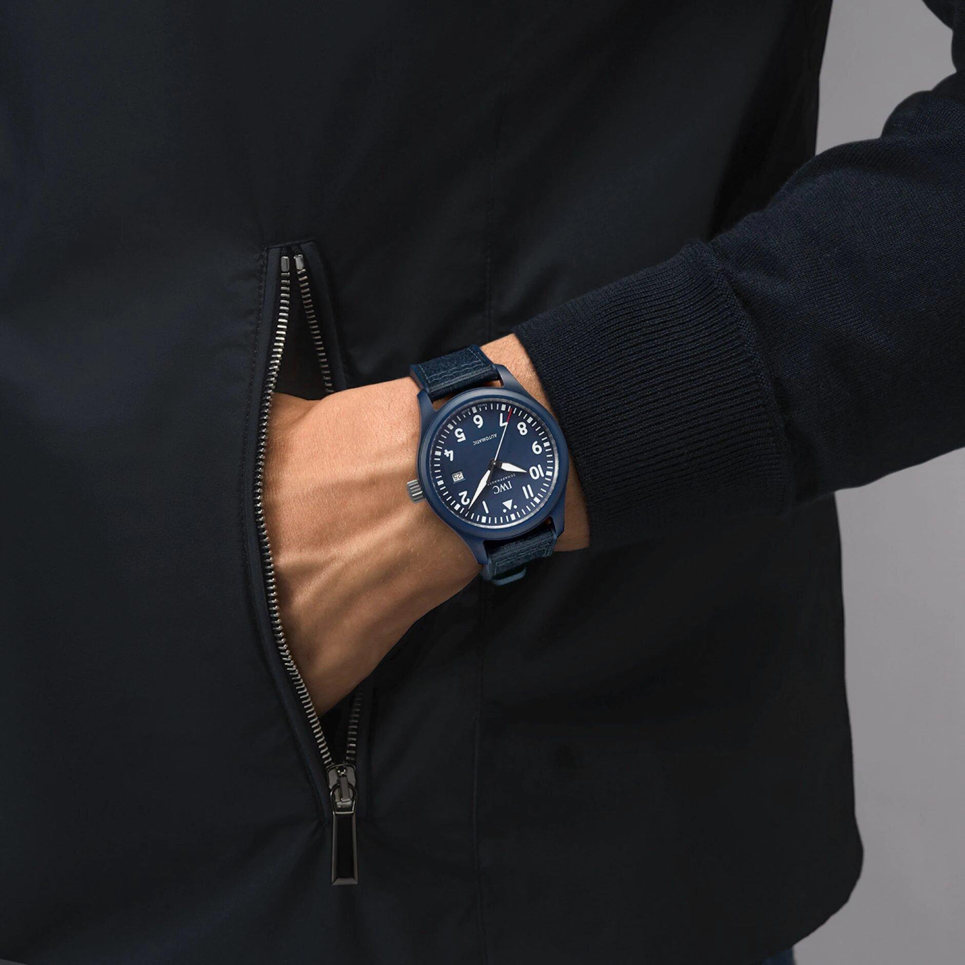 IWC Pilot Watch Automatic Edition Laureus Sport For Good IW328101 Lifestyle wristshot
