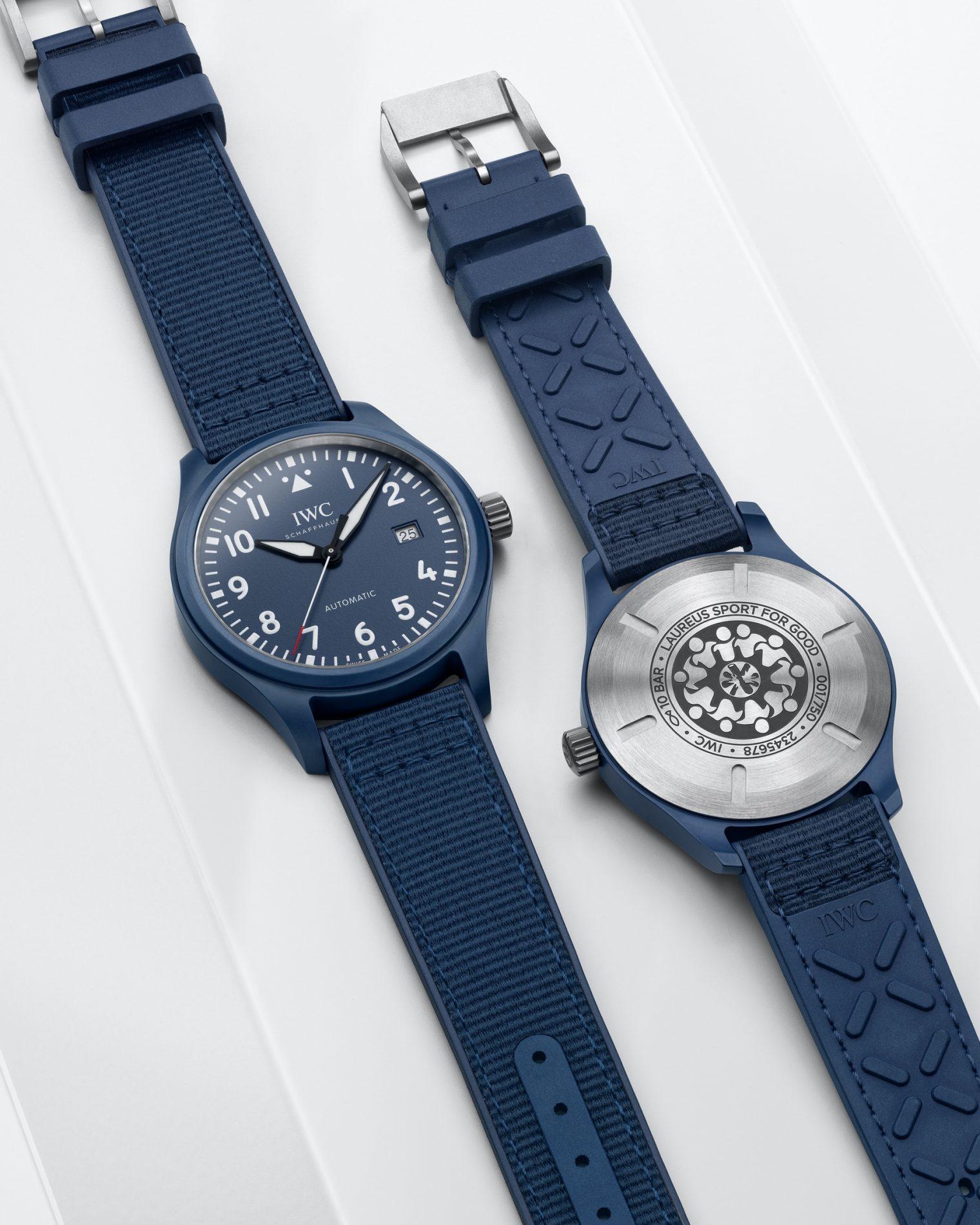 IWC Pilot Watch Automatic Edition Laureus Sport For Good IW328101 Lifestyle