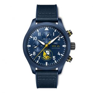 IWC Pilot Watch Chronograph Edition Blue Angels IW389109 Frontal