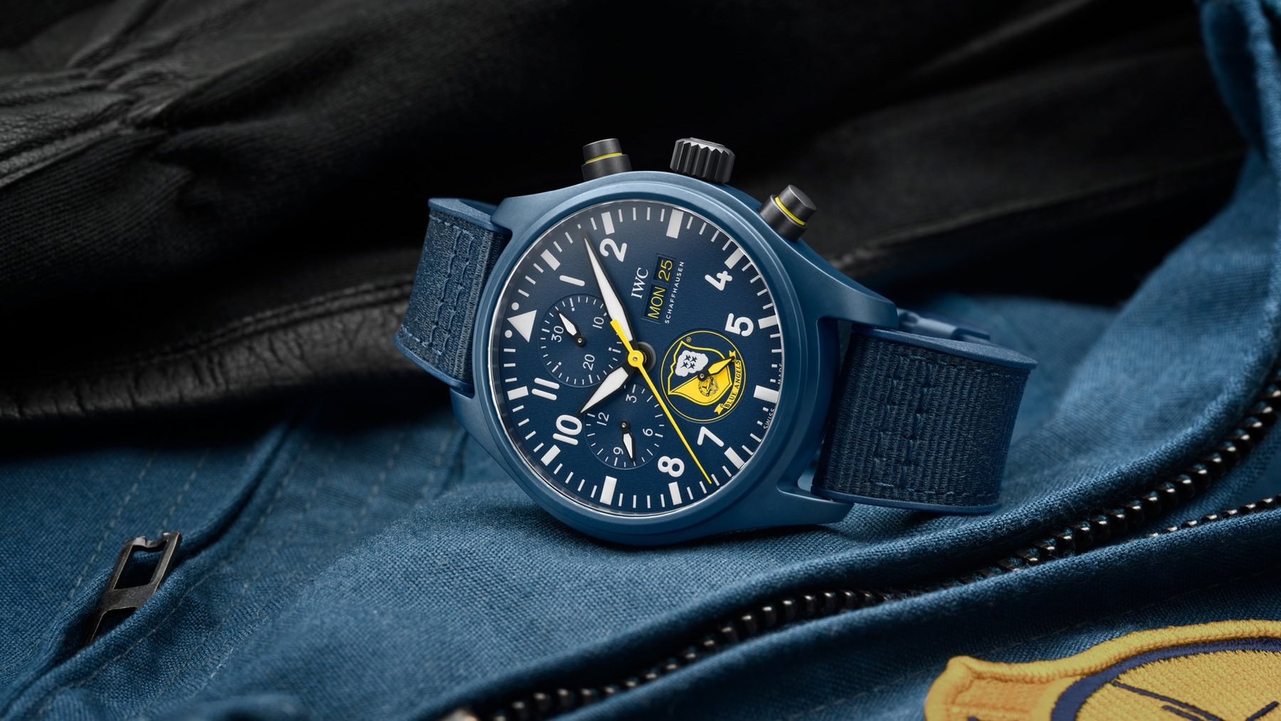 IWC Pilot Watch Chronograph Edition Blue Angels IW389109 Lifestyle