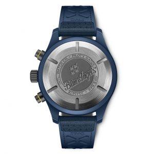 IWC Pilot Watch Chronograph Edition Blue Angels IW389109 Trasera