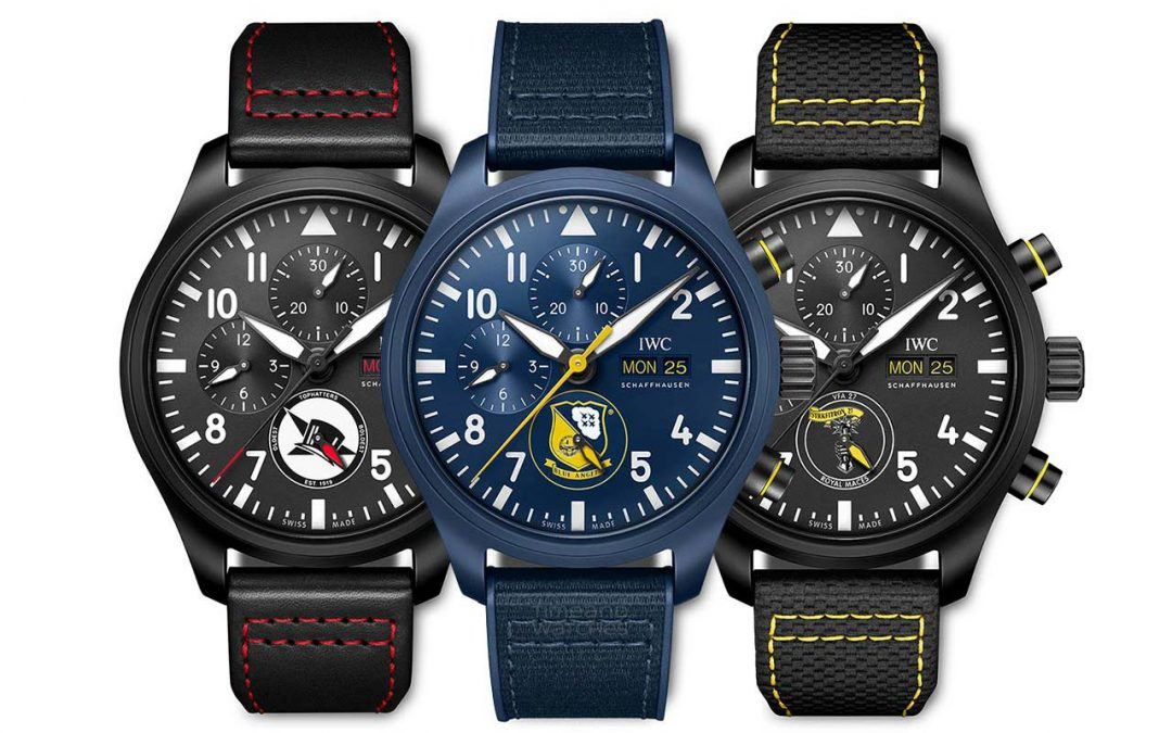 IWC Pilot's Watch Chronograph U.S. Navy Squadrons Editions
