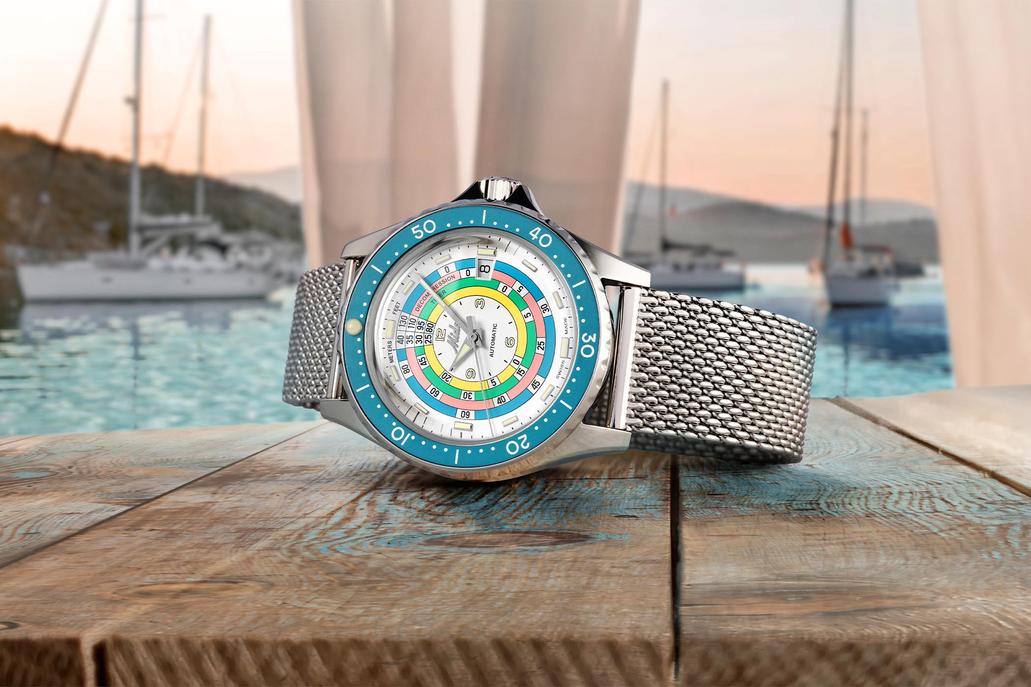 Mido Ocean Star Decompression Timer 1961 Limited Edition Lifestyle 2