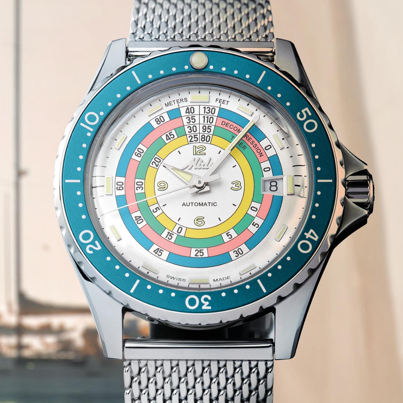 Mido Ocean Star Decompression Timer 1961 Limited Edition Lifestyle esfera
