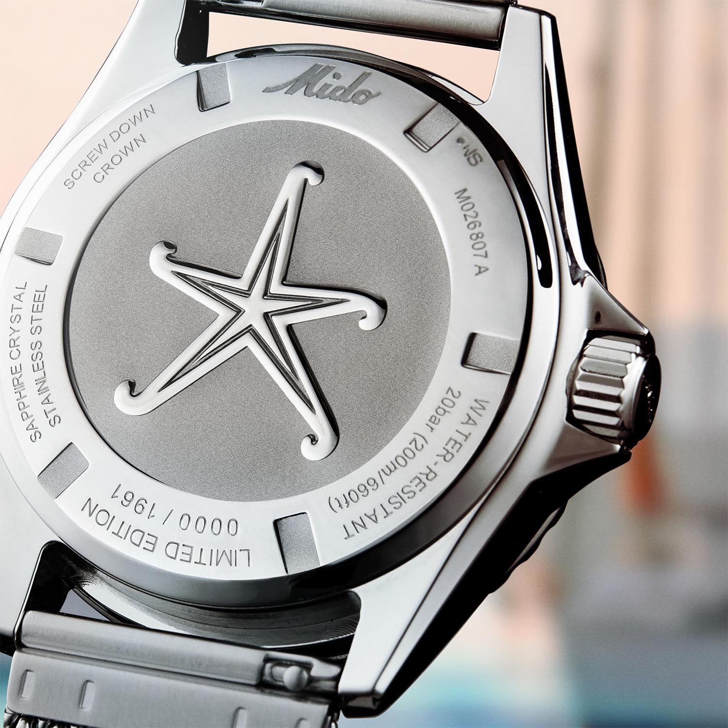 Mido Ocean Star Decompression Timer 1961 Limited Edition Lifestyle trasera
