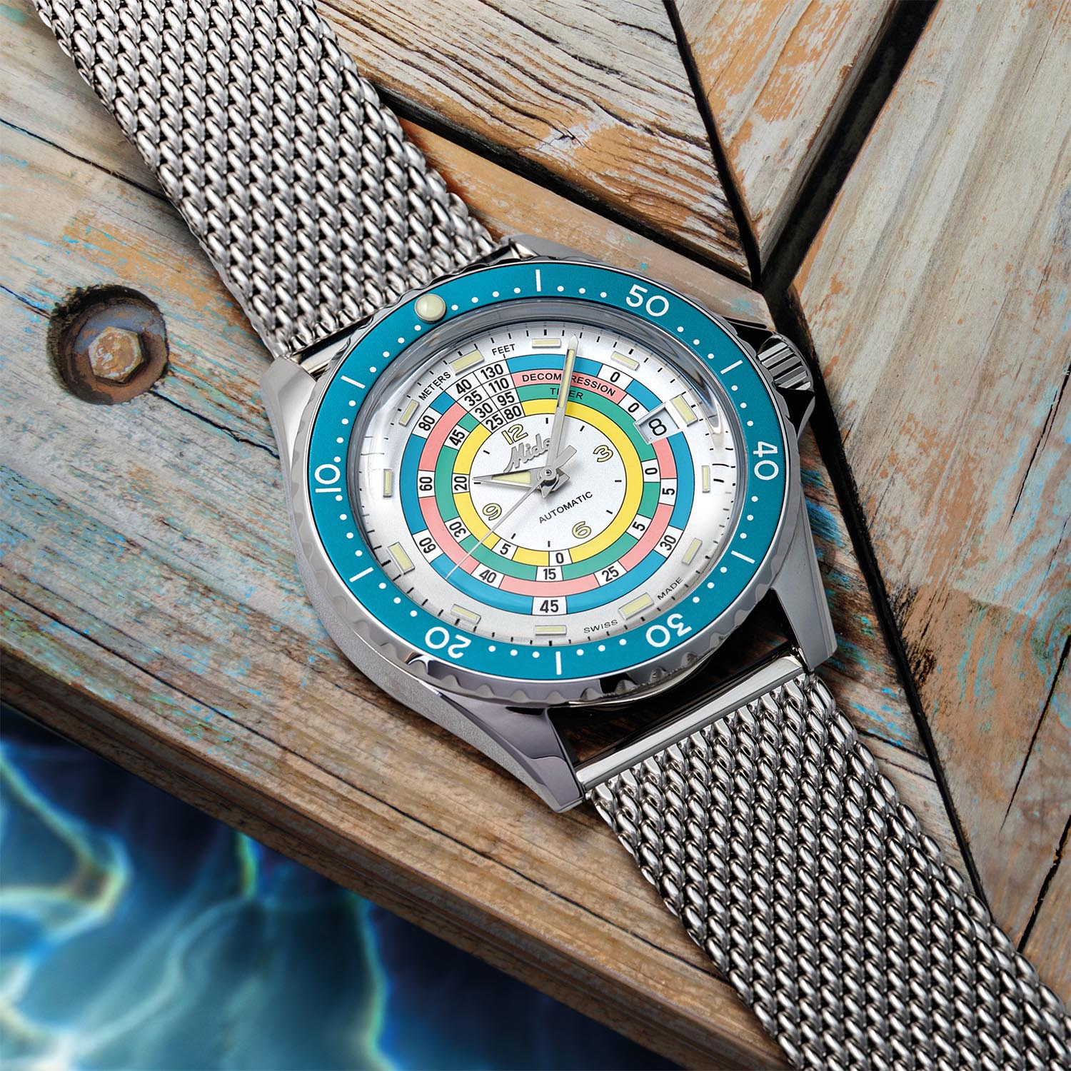 Mido Ocean Star Decompression Timer 1961 Limited Edition Lifestyle