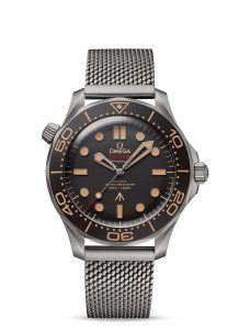 Omega Seamaster Diver 300M Co-Axial Master Chronometer 42 mm 210.90.42.20.01.001 Frontal