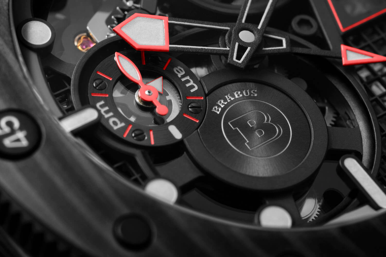 Panerai Submersible S Brabus Black Ops Edition PAM01240 Detalle am pm
