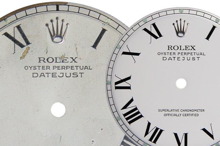 Cómo restaurar la esfera de un reloj