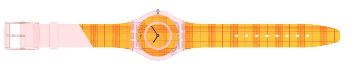 Swatch X Supriya Lele Skin Classic Fire Madras 01