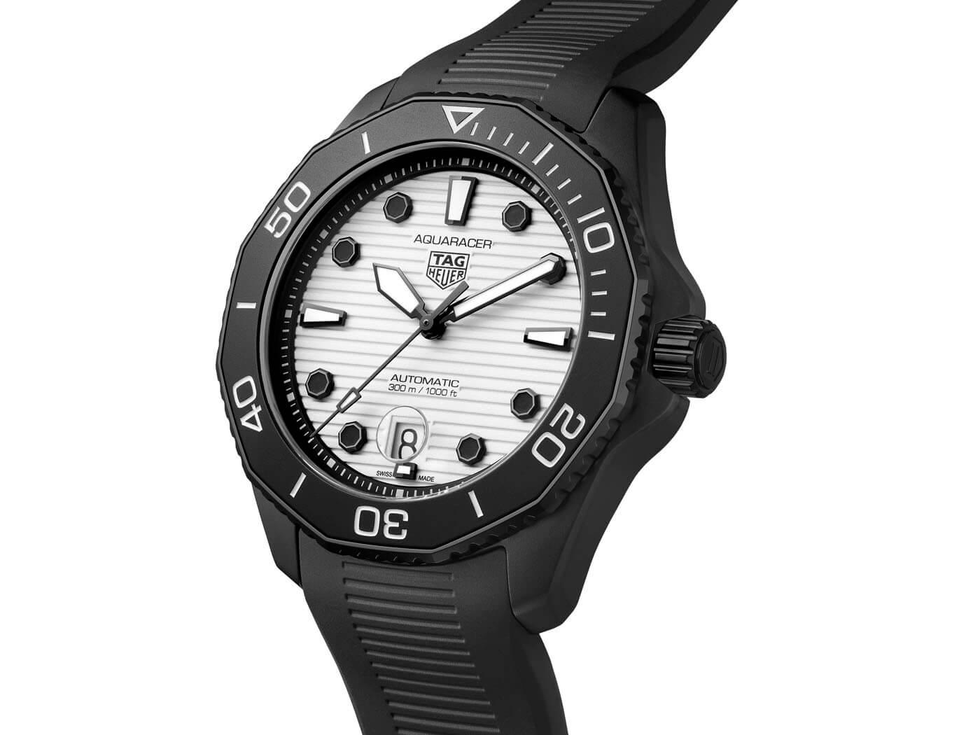 TAG Heuer Aquaracer Professional 300 Night Diver WBP201D.FT6197 Esfera
