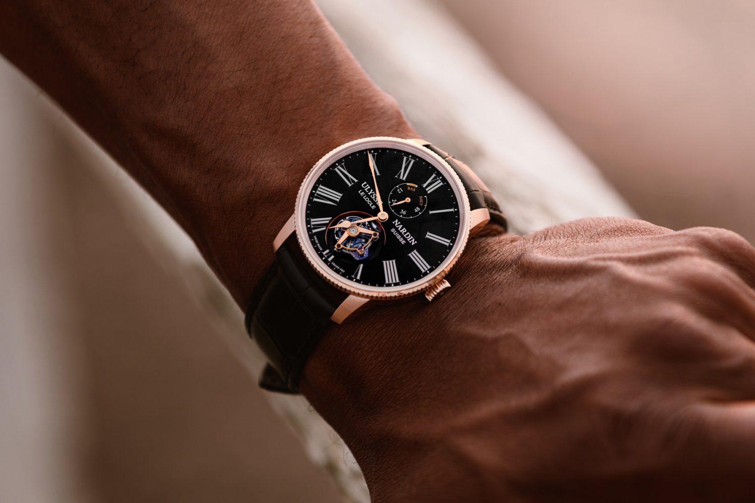 Ulysse Nardin Marine Torpilleur Tourbillon Grand Feu 1282-310LE-2AE-175:1A Lifestyle wristshot