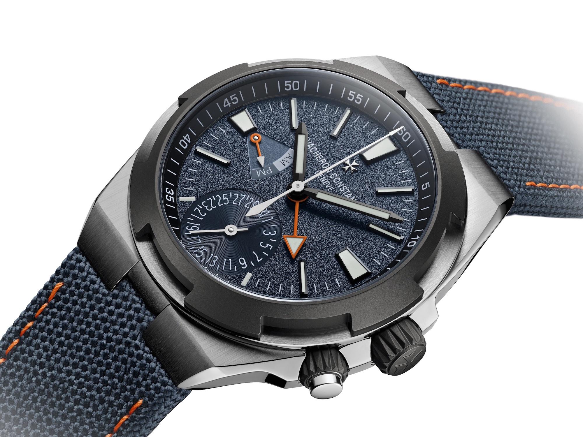 Vacheron Constantin Overseas Dual Time Everest 7910V:000T-B922 Esfera