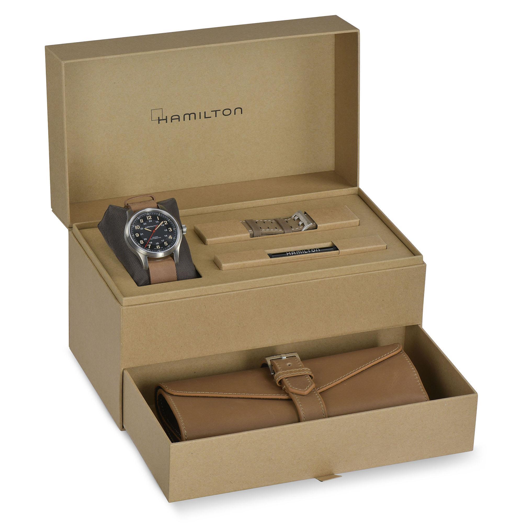 Hamilton Khaki Field Titanium Far Cry 6 Limited Edition H70645533 Estuche